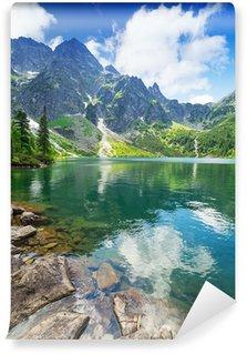 Vinyl Fototapete Eye of the Sea See im Tatra-Gebirge, Polen
