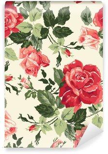Vinyl-Fototapete Fancy rose wallpaper