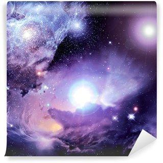 Vinyl-Fototapete Fantasy Space Nebula