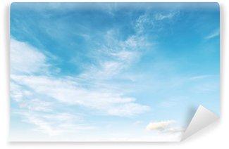 Vinyl-Fototapete Farben in Himmel und Wolken
