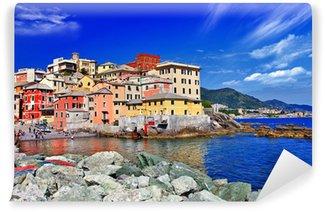 Vinyl-Fototapete Farbenfrohe Stadt in Italien