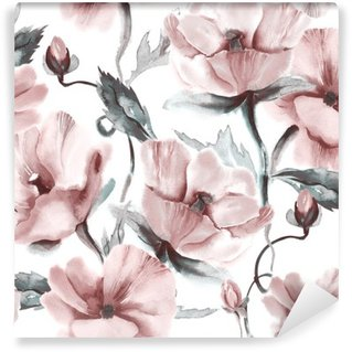 Vinyl-Fototapete Floral seamless pattern