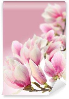 Vinyl Fototapete Foto von magnolia