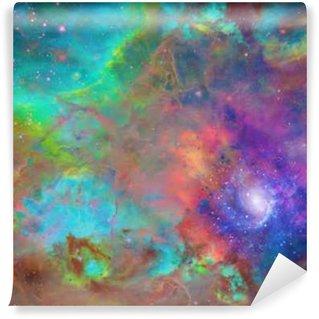 Vinyl-Fototapete Galactic Weltraum