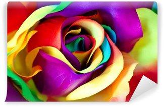 Vinyl-Fototapete Gefälschte Rose Blume