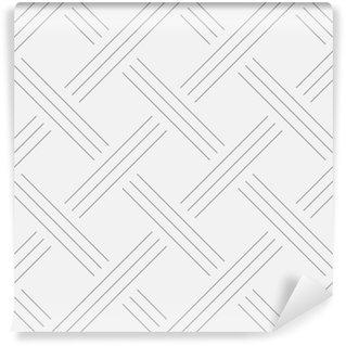 Vinyl-Fototapete Geometrische Hintergrund, Quadrate. Line-Design. Nahtlose Muster. Vektor-Illustration EPS 10