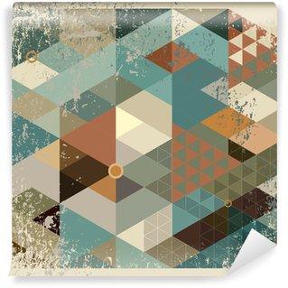 Vinyl Fototapete Geometrische Hintergrund.
