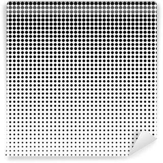 Vinyl-Fototapete Gepunktete Hintergrund