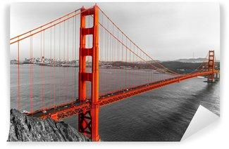 Vinyl-Fototapete Golden Gate, San Francisco, Kalifornien, USA.