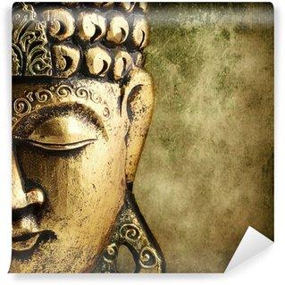 Vinyl Fototapete Goldener buddha