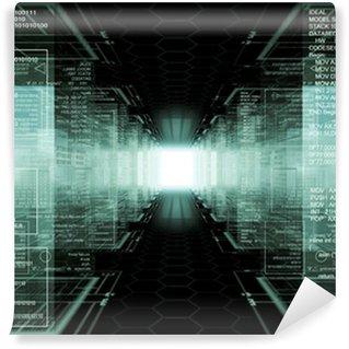Vinyl-Fototapete Hacker der Welt