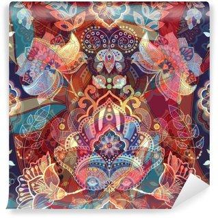 Vinyl-Fototapete Helle bunte nahtlose Muster