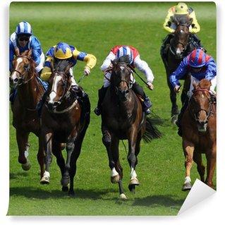 Vinyl-Fototapete Horse Racing 4
