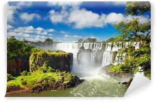 Vinyl-Fototapete Iguassu Falls, Blick vom argentinischen Seite