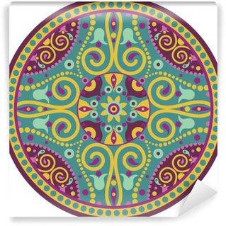 Vinyl-Fototapete Indian-Mandala