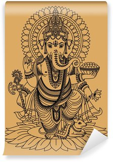 Vinyl-Fototapete Indischer Gott Ganesha