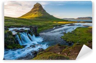Vinyl-Fototapete Isländische Halbinsel