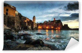 Vinyl-Fototapete Italienischer Sonnenuntergang