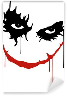 Vinyl-Fototapete Joker Lächeln
