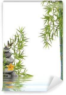 Vinyl-Fototapete Konzept Natur-Entspannung, Wohlbefinden, Entspannung
