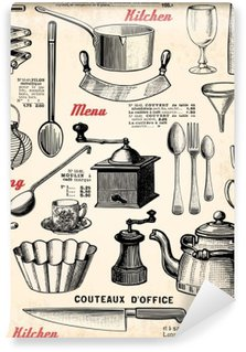 Vinyl-Fototapete Küche