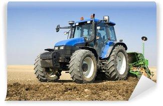 Vinyl-Fototapete Landwirtschaft - Traktor
