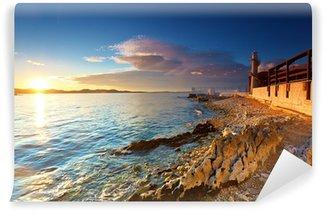 Vinyl-Fototapete Leuchtturm in Zadar