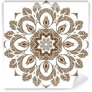 Vinyl-Fototapete Mandala-Entwurf