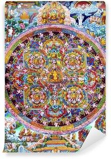 Vinyl-Fototapete Mandala