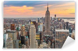 Vinyl-Fototapete Manhattan Aerial View