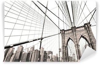 Vinyl-Fototapete Manhattan-Brücke, New York City. USA.