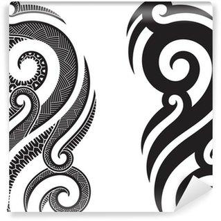 fototapeten maori pixers wir leben um zu ver ndern. Black Bedroom Furniture Sets. Home Design Ideas