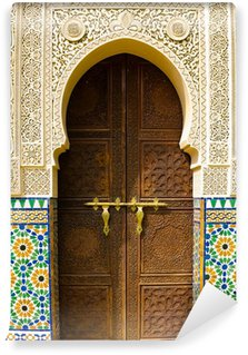 Vinyl-Fototapete Marokkanische architektur