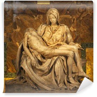 Vinyl-Fototapete Michaelangelo Pieta Sculpture Vatikan Rom Italien