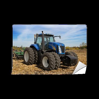 Fototapete moderne traktor mit pflanzer pixers wir - Moderne fototapeten ...