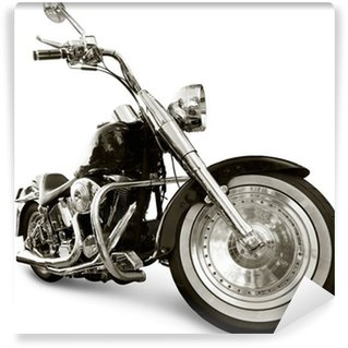 Vinyl-Fototapete Motorrad