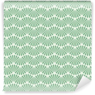 Vinyl-Fototapete Nahtlose Art Deco-Muster-Beschaffenheit Tapeten-Hintergrund