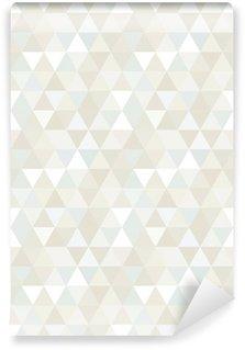 Vinyl-Fototapete Nahtlose Dreieck-Muster, Hintergrund, Textur