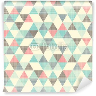 Vinyl-Fototapete Nahtlose geometrische Muster.