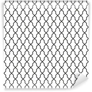 Vinyl-Fototapete Nahtlose Vintage Tapete Textur-Muster-Hintergrund