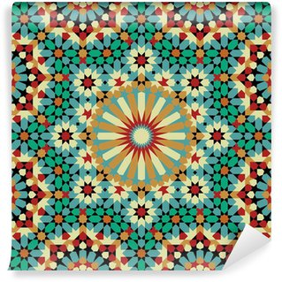Vinyl-Fototapete Nawa Seamless Pattern Acht
