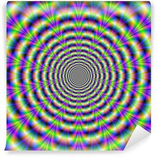 Vinyl-Fototapete Neon Pulse