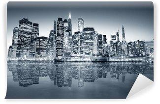 Vinyl-Fototapete New york manhattan