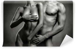 Vinyl-Fototapete Nude sinnliche Paar