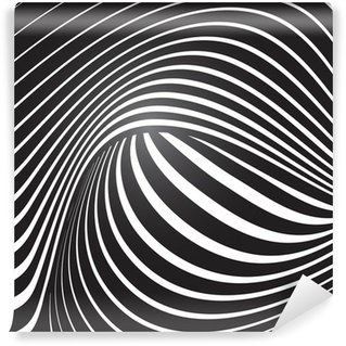 Vinyl-Fototapete Optischen Effekt Vektor-Hintergrund