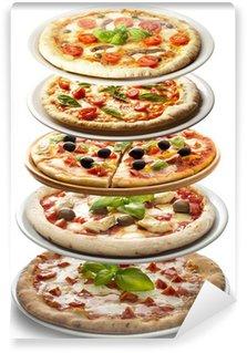 Vinyl Fototapete Pizza