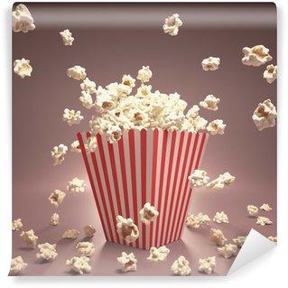 Vinyl-Fototapete Popcorn Fliegen