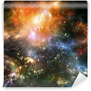 Vinyl-Fototapete Propagation of Space