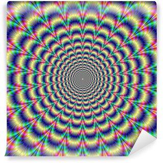 Vinyl-Fototapete Psychedelic Pulse