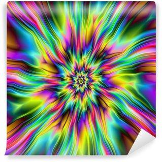 Vinyl-Fototapete Psychedelic-Supernova